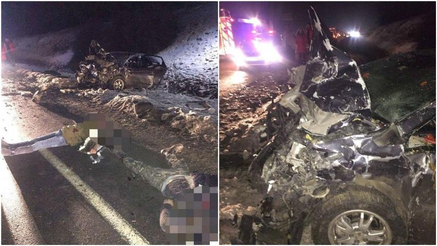 Foto: Accident înfiorător lângă Peresecina: 4 oameni au murit