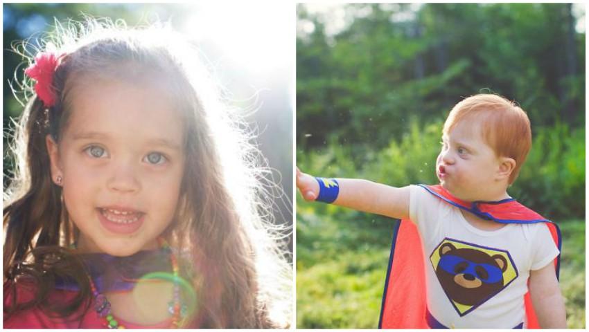 Foto: Proiect foto emoționant: copii cu dizabilități sunt transformați în supereroi