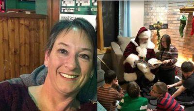 O femeie a adoptat cinci copii cu sindromul Down