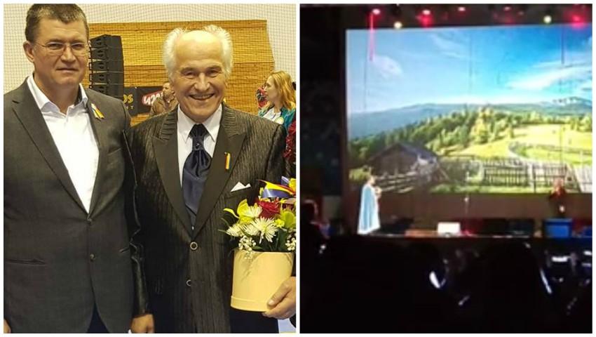 """Foto: Video! Spectacolul ,,Unirea cea Mare"""" de Eugen Doga a răsunat pe 1 Decembrie, la Craiova"""