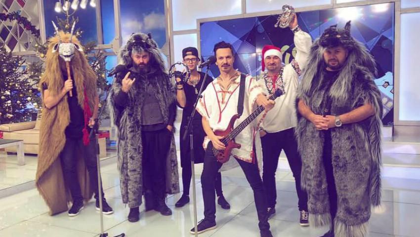Foto: Video! Alex Calancea Band & Lupii ne urează de Sărbători!