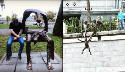 18 sculpturi din lumea întreagă care te vor face să te oprești pentru a le admira