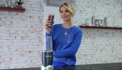 Rețeta de smoothie pentru o viață sănătoasă, de la Olia Tira