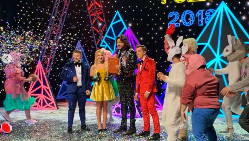 """Foto: O premieră pentru țara noastră! Trupa DoReDos, pe scena showului ,,Песня года 2018"""" din Rusia"""