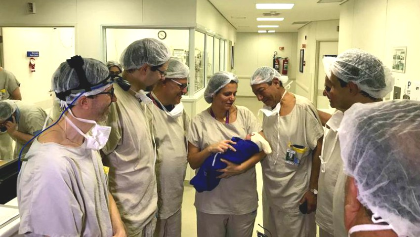 Foto: Premieră mondială! A fost născut primul copil, după un transplant de uter de la o donatoare aflată în moarte cerebrală
