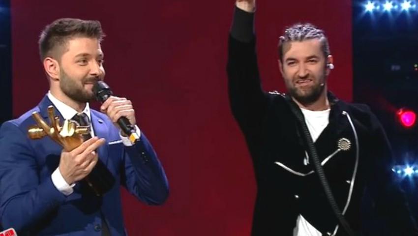 Foto: Bogdan Ioan este marele câștigător de la Vocea României. În finală, a cucerit publicul tot cu o piesă de-a lui Michael Jackson