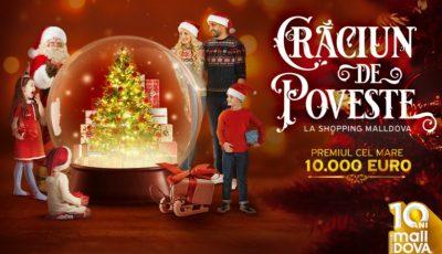 Crăciun de poveste la Shopping MallDova: Regal vienez de muzică clasică și zeci de surprize