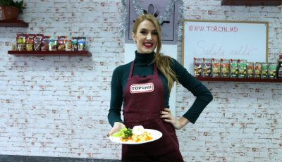 Online Cooking Show cu Tatiana Heghea – Salată caldă de legume cu ou poșat