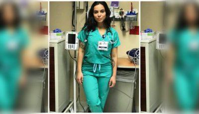 Ea este cea mai frumoasă asistentă medicală din lume. Ce secrete o ajută să se mențină în formă?