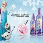 """Foto: Cadoul inspirat din celebrul desen animat ,,Frozen"""" le face pe micile prințese să se simtă deosebite!"""