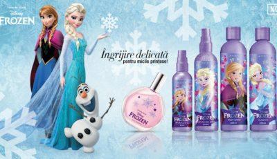 """Cadoul inspirat din celebrul desen animat ,,Frozen"""" le face pe micile prințese să se simtă deosebite!"""