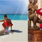 Foto: Exerciții pe care le poți face în vacanță, de la Laysan Utyasheva