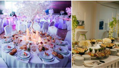 Atmosferă de restaurant în orice locație! Comandă servicii de catering de la Restaurantul Select