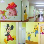 Foto: Spitalul Clinic Municipal Pentru copii nr. 1 a prins viață și culoare, grație eroilor din desene animate!