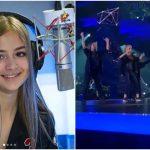 Foto: Iuliana Beregoi a făcut show la prima semifinală Eurovision România