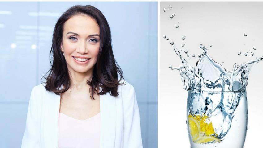 """Foto: Galina Tomaș te invită la seminarul gratuit: """"Apa – cel mai important component pentru sănătate!"""""""