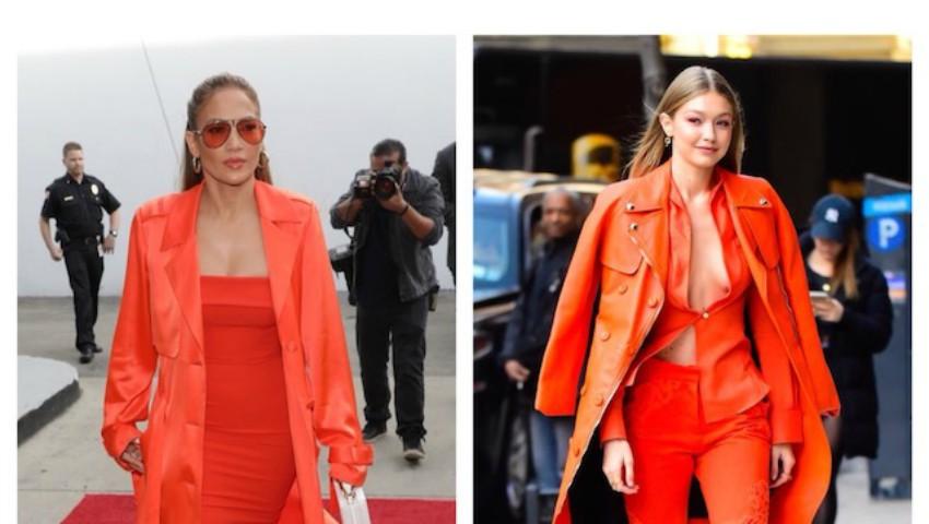 Foto: Combinații îndrăznețe a hainelor în nuanțe de coral