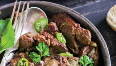Un prânz delicios – ficăței cu ceapă și ardei gras