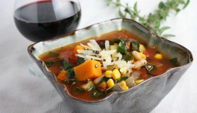 O rețetă apetisantă! Supă de legume în stil italian
