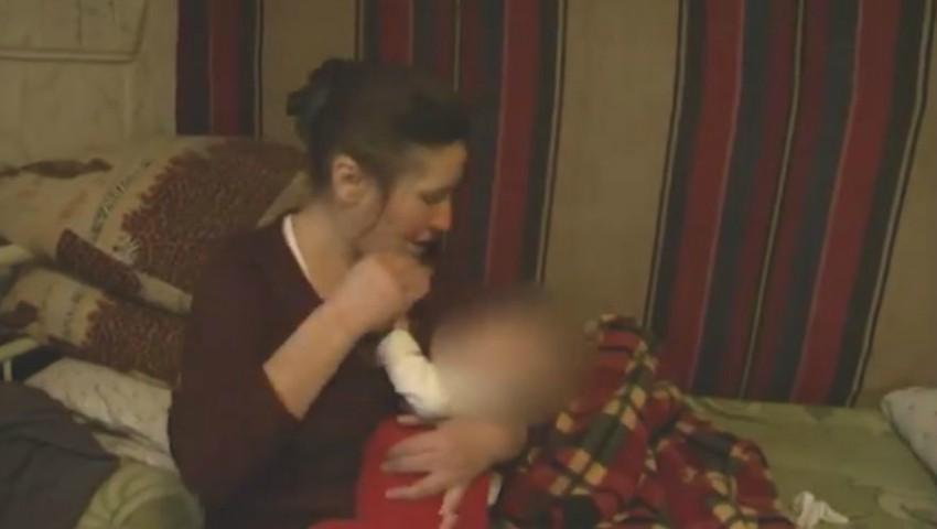 Foto: Isprava unei moldovence. Și-a lăsat bebelușul de 6 luni în grija unei străine și a dispărut fără urmă