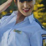 Foto: O poliţistă din Moldova a obținut medalia de aur la Concursul Republican de atletism