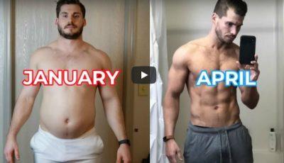 Transformarea incredibilă a unui tânăr, în doar 3 luni! A slăbit 24 de kg și a devenit de nerecunoscut