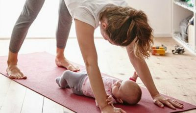 Exerciții fizice pe care le poți face împreună cu bebelușul tău