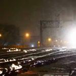 Foto: Video senzațional! Căile ferate din Chicago ard, din cauza gerului