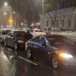 Foto: Accident în lanț în centrul capitalei: șapte mașini s-au ciocnit