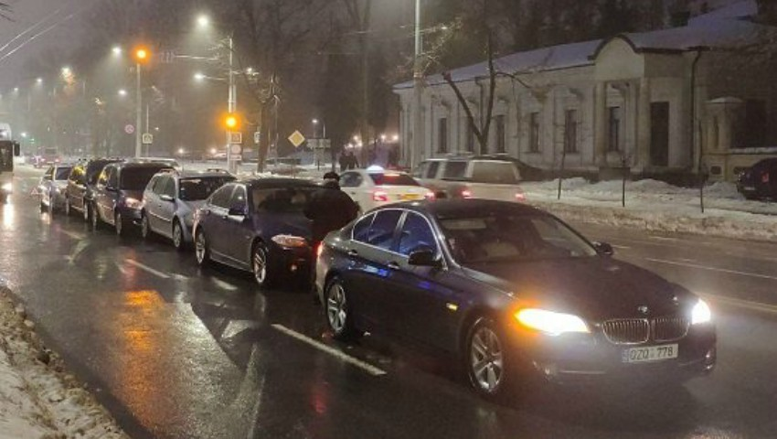 Accident în lanț în centrul capitalei: șapte mașini s-au ciocnit