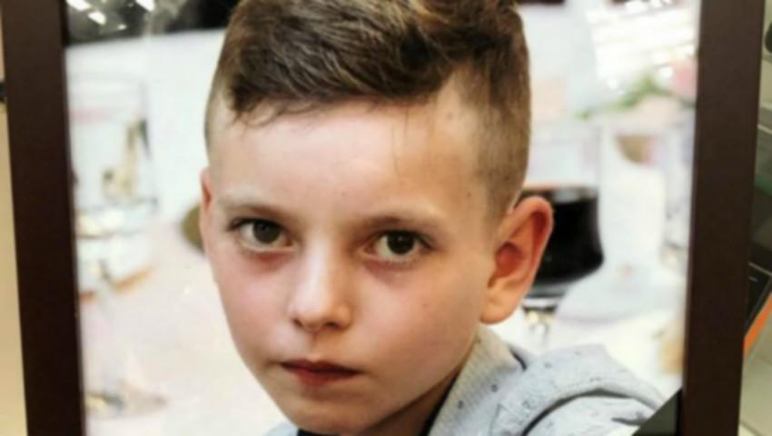 Foto: Băiețelul de 12 ani, care a decedat în accidentul de la Bozieni, a fost condus pe ultimul drum