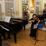 Foto: O serată de creație a avut loc în casa maestrului Eugen Doga. Foto!
