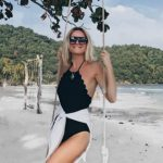 Foto: Vacanță de vis, în Vietnam! Olia Tira și-a etalat silueta de zeiță la plajele cu nisip alb