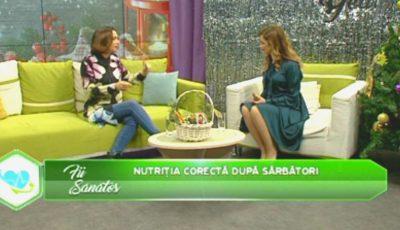 De vorbă cu Galina Tomaș: Despre alimentația sănătoasă și detoxifierea după sărbători