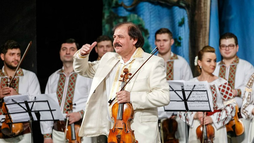 Foto: La mulţi ani, Nicolae Botgros! Maestrul viorii își sărbătorește astăzi ziua de naștere