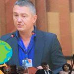 """Foto: Moldoveanul Ion Lazarenco Tiron a fost desemnat ,,Omul Anului"""" de către Asociația Mondială a Înotătorilor"""