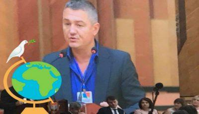 """Moldoveanul Ion Lazarenco Tiron a fost desemnat ,,Omul Anului"""" de către Asociația Mondială a Înotătorilor"""