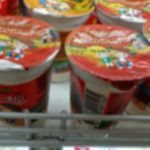 Foto: Iaurt pentru copii cu termenul de valabilitate expirat, într-un magazin din Capitală