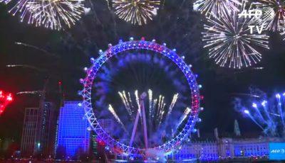Video! Un mesaj în limba română a fost rostit în timpul focurilor de artificii de la Londra
