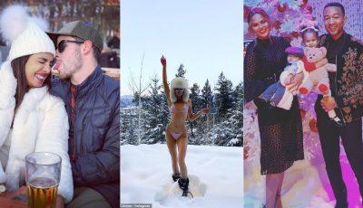 Cum au petrecut vedetele internaționale de Revelion!