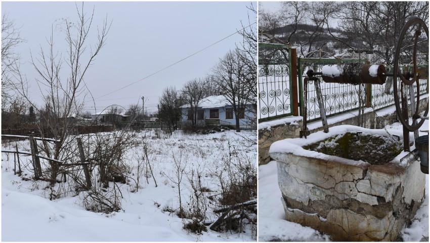 Foto: Un mare sat din Moldova dispare. Casele se vând cu 2.000 de euro. Chiar și așa nimeni nu le cumpără
