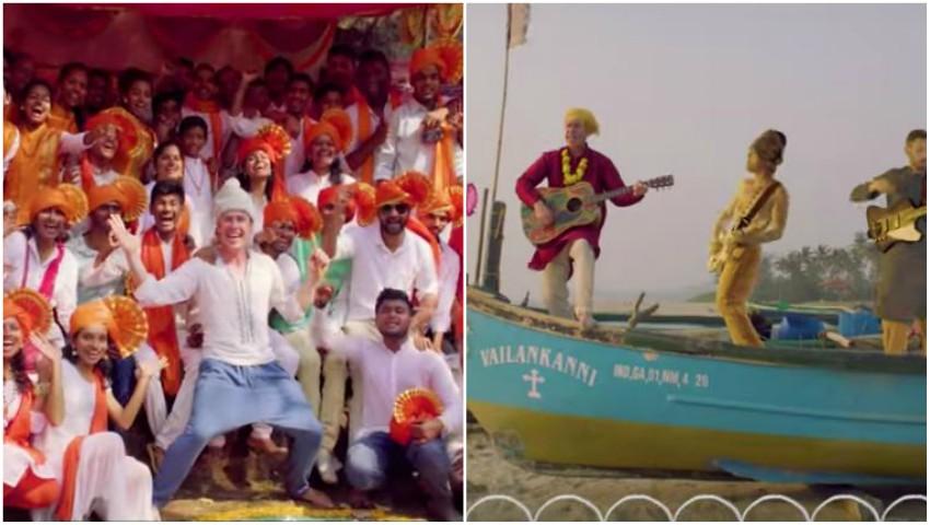 Foto: Videoclip plin de culoare, filmat în India! Băieții de la Zdob și Zdub surprind publicul cu un nou produs muzical