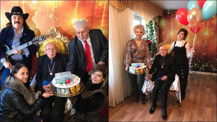 Foto: Maestrul Gheorghe Urschi și-a sărbătorit ziua de naștere alături de prieteni și colegi de breaslă. Foto!