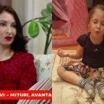 Foto: Angela Gonța a vorbit despre fiica ei și relația specială cu bona. Ekaterina vorbește fluent în limba rusă