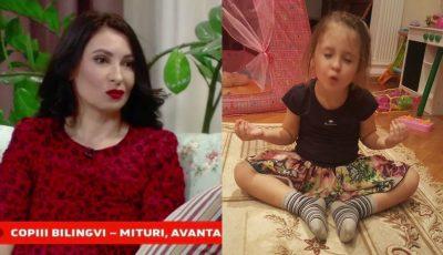 Angela Gonța a vorbit despre fiica ei și relația specială cu bona. Ekaterina vorbește fluent în limba rusă