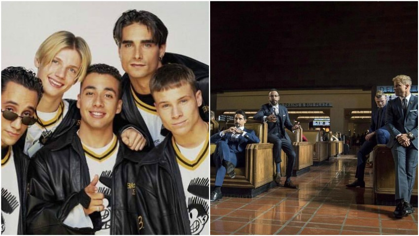 Foto: Băieții de la Backstreet Boys alături de soţii şi copii în cel mai nou videoclip, după 25 de ani