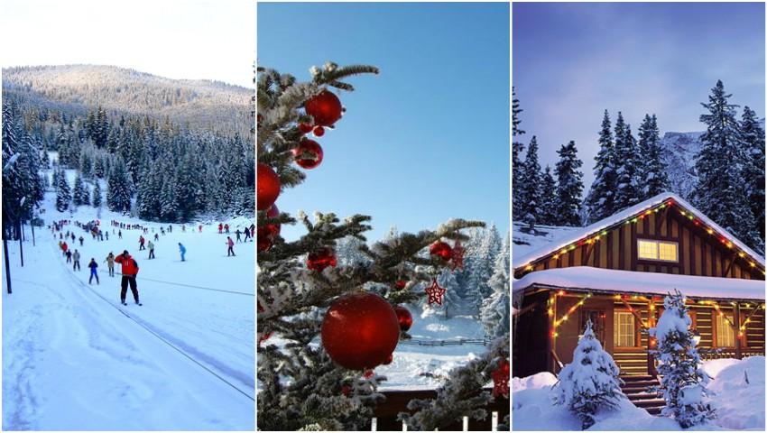 Foto: Moldovenii se pregătesc de Crăciunul pe stil vechi la munte, în România. Cât plătesc pentru cinci zile