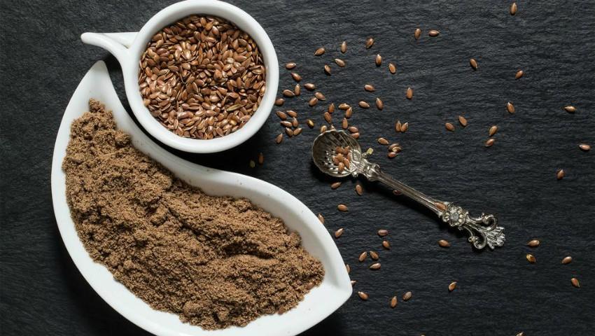 Foto: Cum scapi de kilograme în plus cu semințe de in