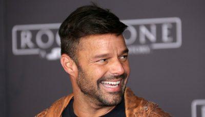 Ricky Martin a prezentat lumii pe fiica sa, Lucia