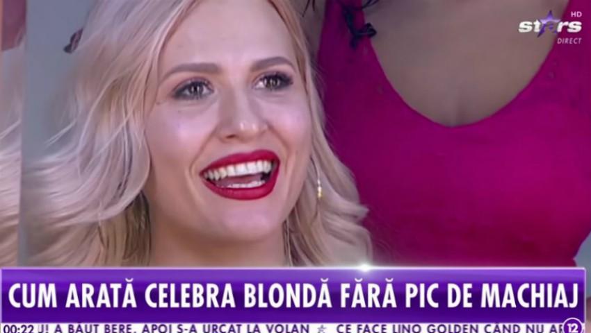 Foto: Dianna Rotaru, naturală și nemachiată! Vedeta a acceptat provocarea prezentatorilor de la Antena Stars București